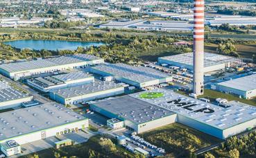 Fabryka Form w parku MLP Pruszków II