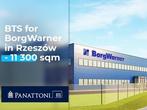 Ruszyła budowa Panattoni Park Rzeszów Airport II. Blisko 11 300 m kw. zajmie w nim powierzchnia typu BTS dla amerykańskiej firmy BorgWarner